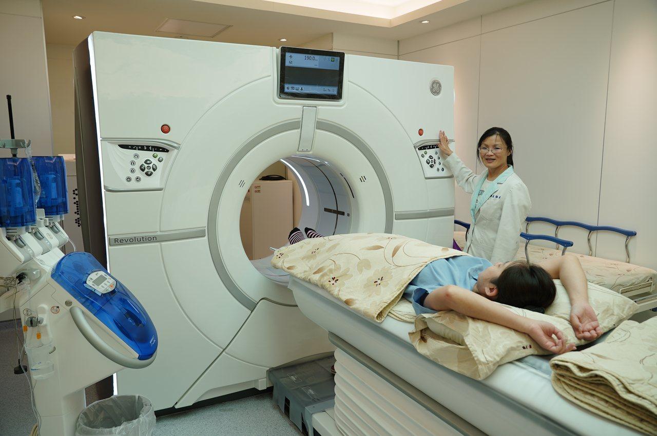 有三高的高危險群,都適合以電腦斷層檢查作為篩檢工具。圖/聯新醫院提供