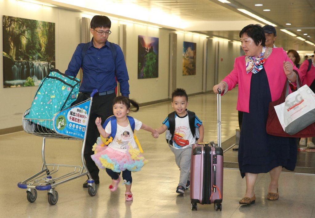 許多僑胞或台商回國出席國慶各項慶典活動,也自費健檢照顧健康。圖/聯合報系資料照片