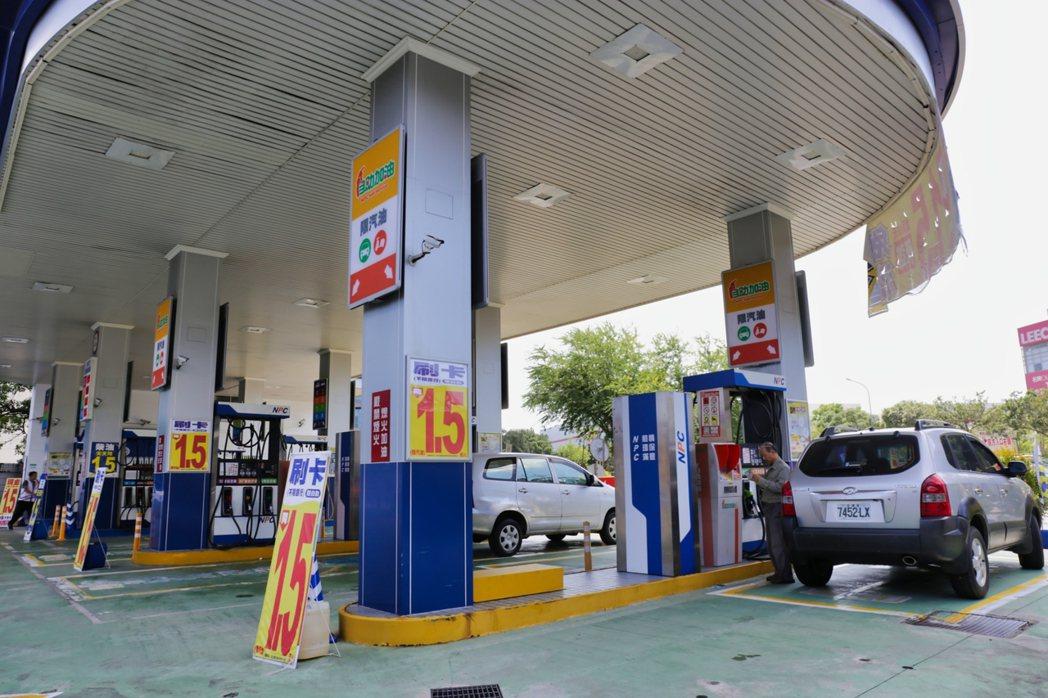 民營加油站競爭激烈但扣除薪資成本及營業費用每月可望獲利逾百萬元。 業者/提供