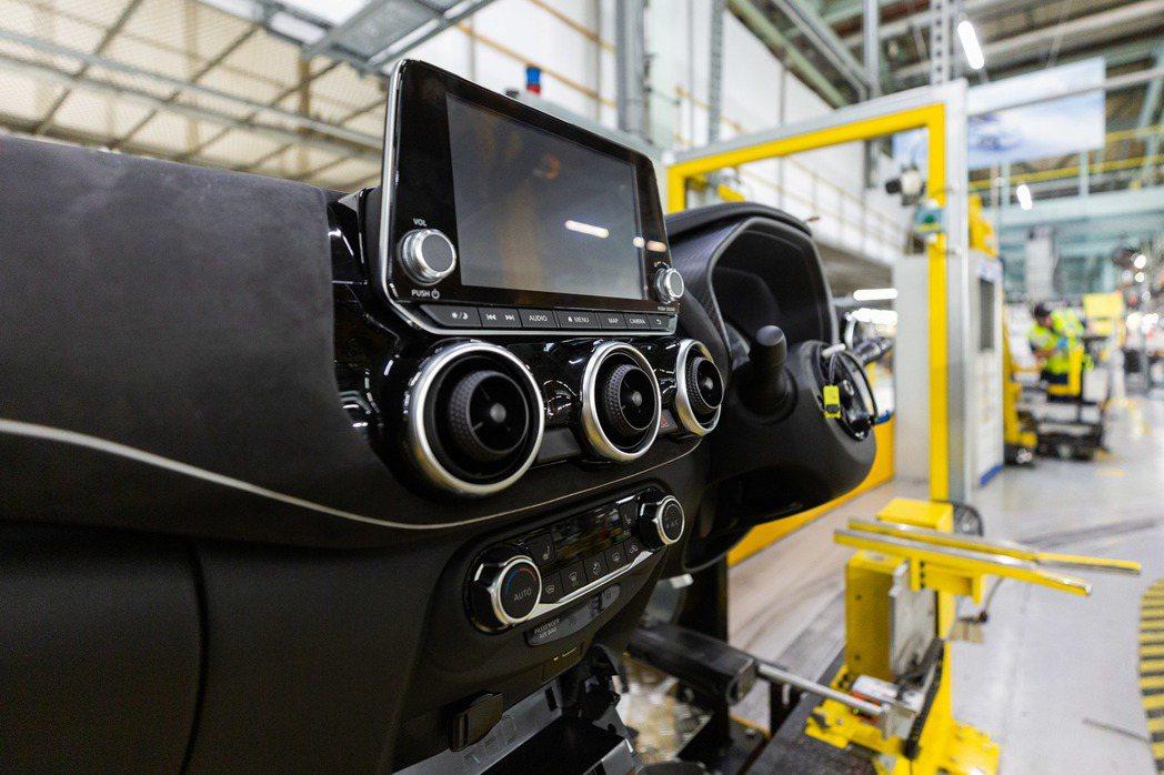 第二代Nissan Juke在英國Sunderland工廠正式投產。 摘自Nis...