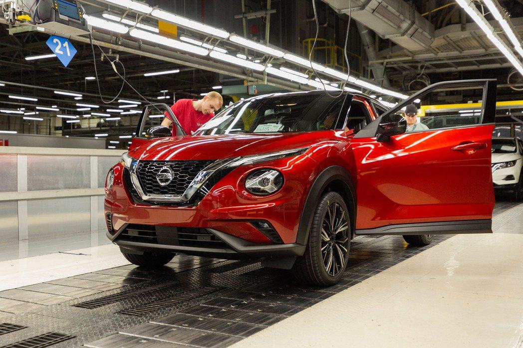 第二代Nissan Juke預計今年11月就會率先於歐洲市場販售。 摘自Niss...
