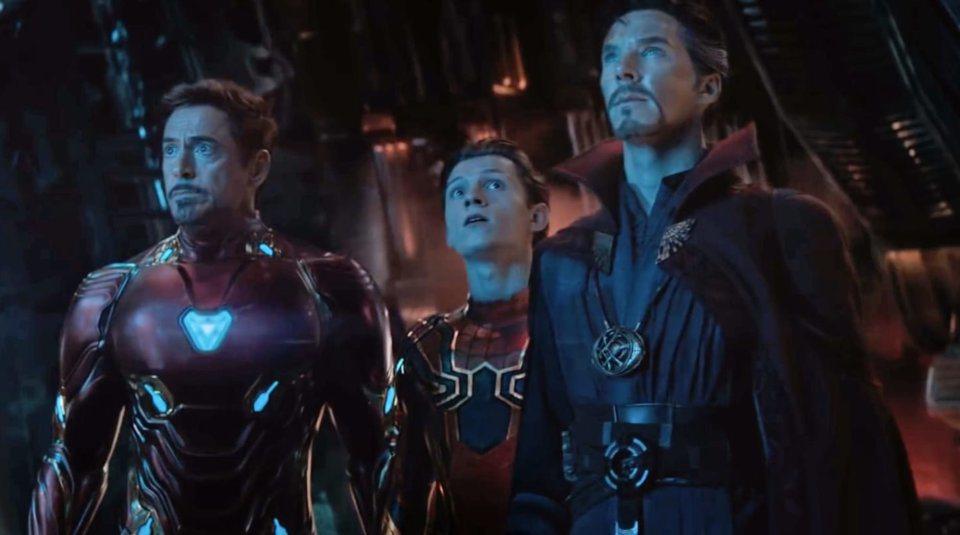 蜘蛛人直到索尼與迪士尼合作才能夠和其他漫威漫畫英雄人物同台。圖/摘自imdb