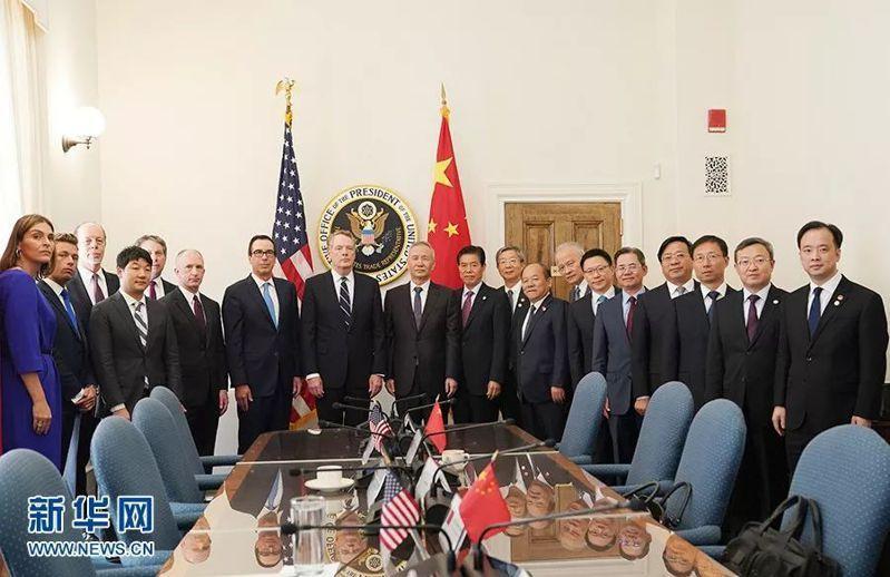 備受矚目的新一輪中美經貿高級別磋商已落幕。圖:新華社