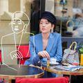 郭雪芙巴黎曬絕版DELVAUX手袋 春夏推街頭藝術新款