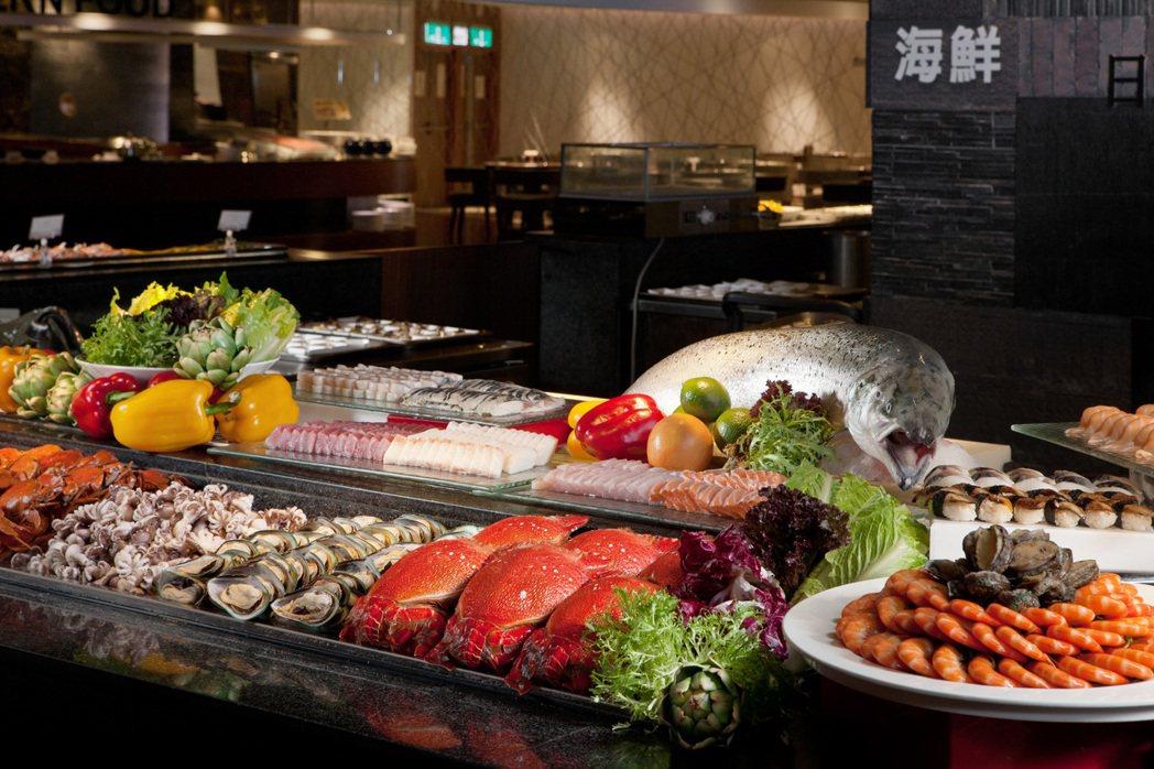 漢來海港自助餐是各百貨公司裡的金雞母。 圖/漢來海港提供