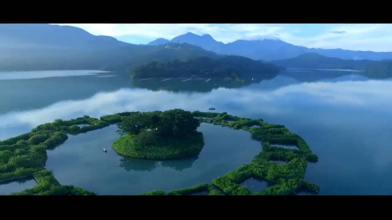 日月潭以「低碳3D水陸空旅遊網」入圍全球百大綠色旅遊目的地。圖/觀光局提供