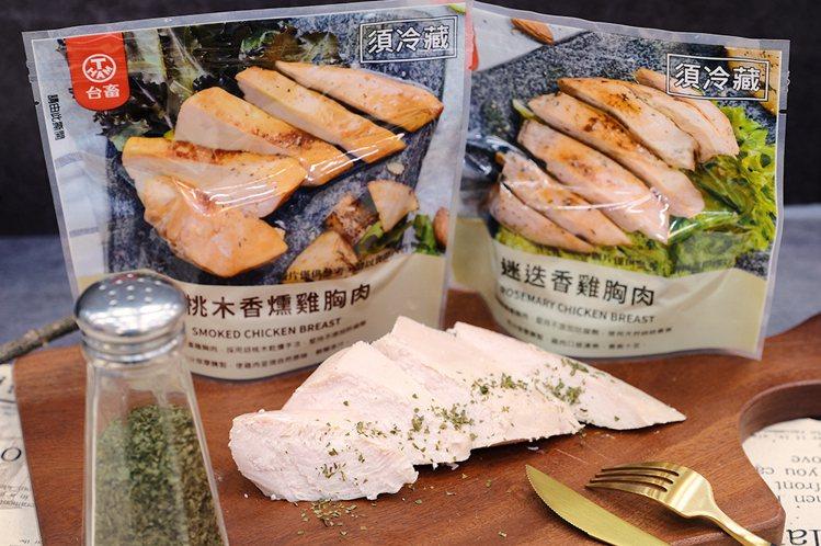 萊爾富推出「台畜迷迭香雞胸肉」、「台畜胡桃木香燻雞胸肉」,即日起至11月5日可享...