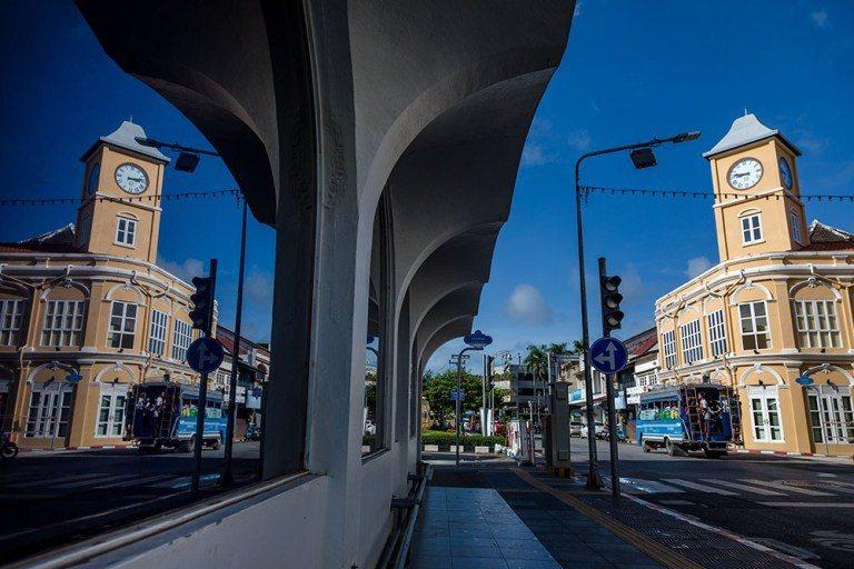 普吉島島的中心是歷史悠久的老城區。圖/泰國觀光局提供