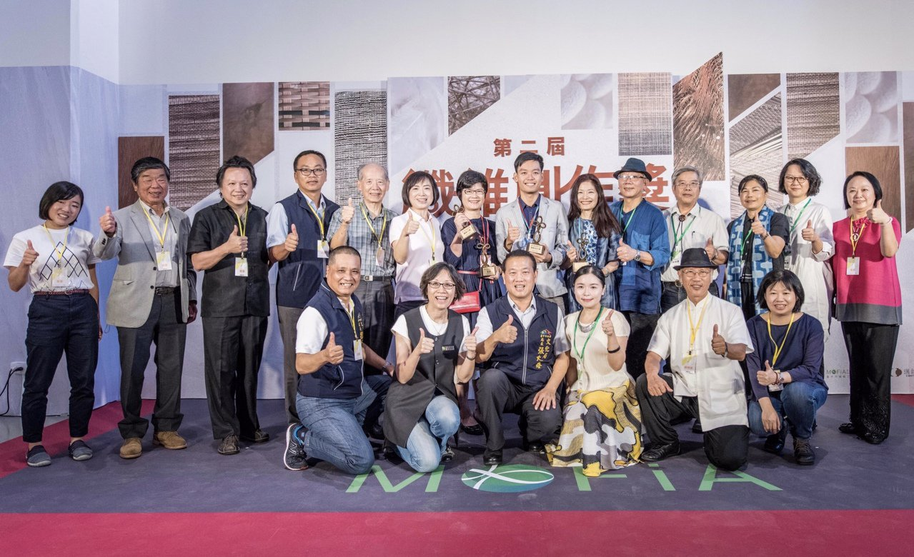 由台中市纖維工藝博物館主辦的「第二屆纖維創作獎」,今日舉行頒獎典禮,今年有62件...
