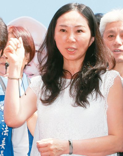 韓國瑜夫人李佳芬下旬將前往東南亞為韓助選。 記者黃仲裕/攝影