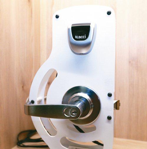 一德金屬專門生產高技術門檻的商用一、二級鎖,並投注資源在研發及測試驗證。 記者劉...