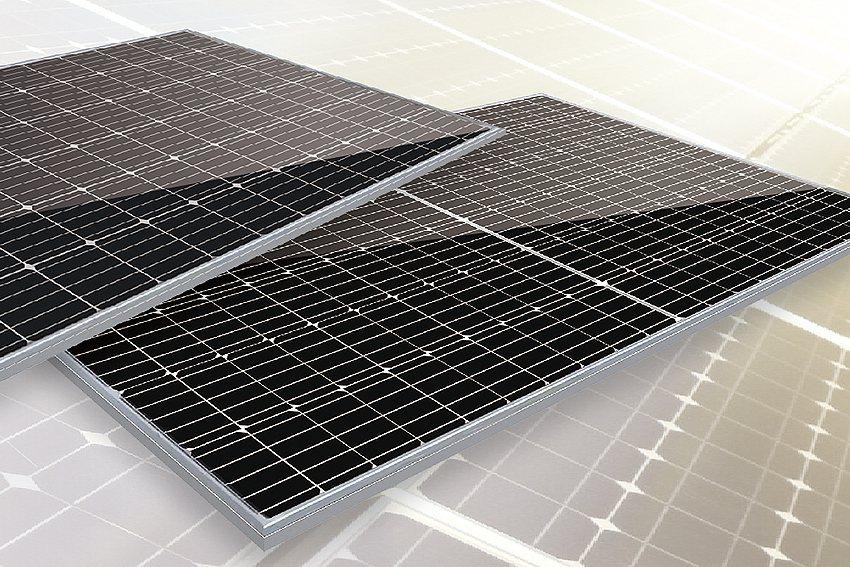 神盾太陽能模組。 元晶太陽能/提供