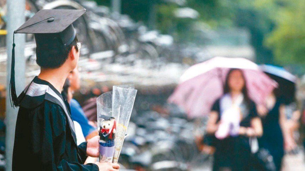 近五年畢業生平均找到第一份工作約需2.78個月。 本報資料照片
