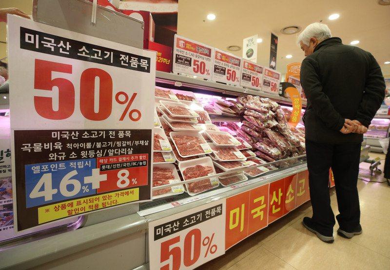 非洲豬瘟疫情爆發後,不少南韓民眾心中第一個念頭就是「豬肉價格要飆漲了」。歐新社