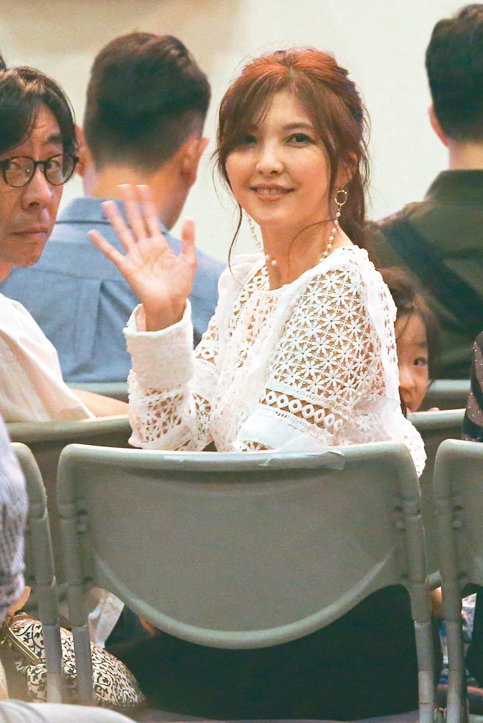 相馬茜現身觀賞老公李玖哲台北小巨蛋演唱會。 圖/聯合報系資料照