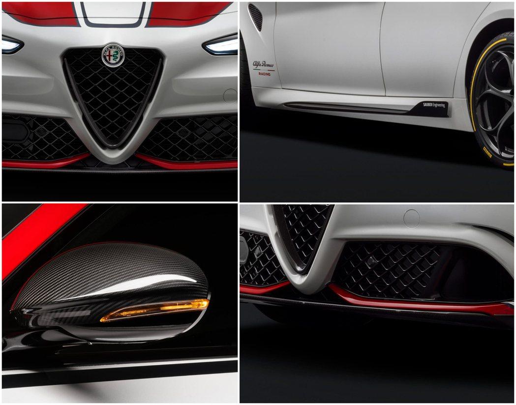 由F1賽車合作夥伴Sauber Engineering所設計的各式空力套件。 摘...