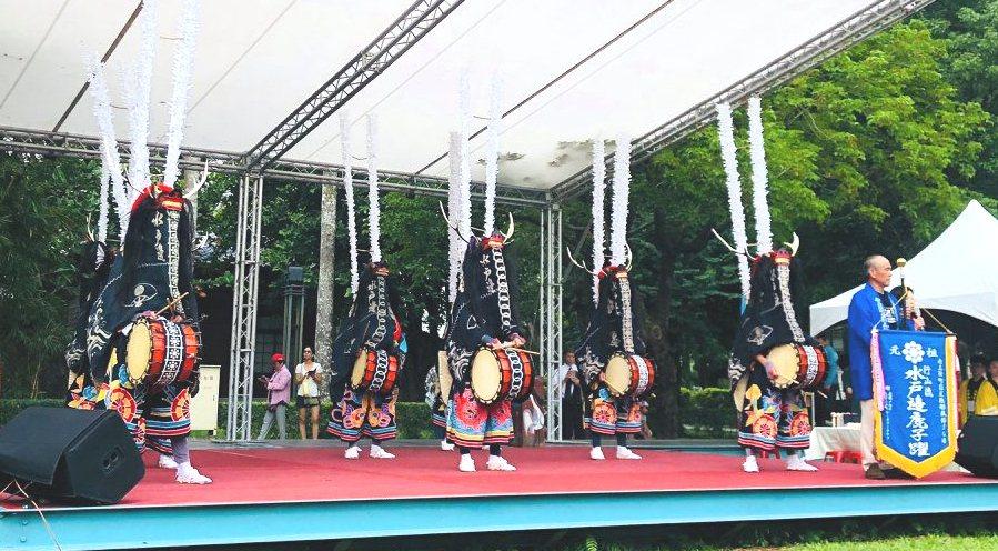 現場安排一系列藝文表演展現精緻日式文化風格。圖/取自總爺藝文中心粉絲團