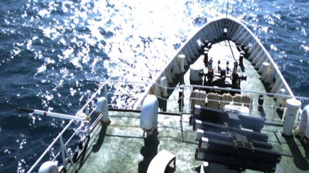 「鎮海火箭彈」系統。圖╱中科院提供
