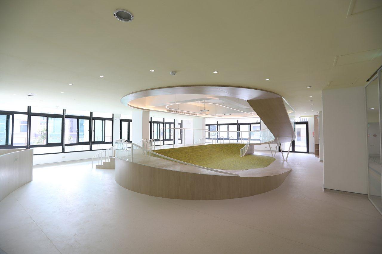 南勢社福館為2樓北區親子館。圖/新竹市府提供