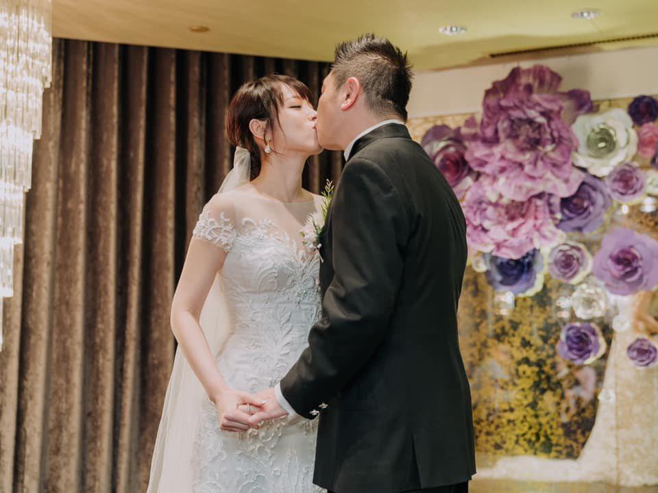 朱蕾安曝光家宴婚禮照。圖/摘自臉書