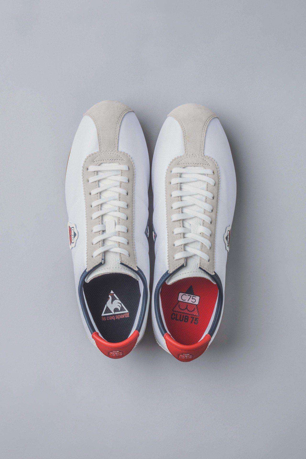 le coq sportif與Club 75聯名系列Montpellier鞋款鞋...