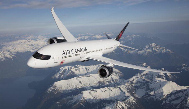 加拿大航空推出線上旅展優惠,台北經溫哥華飛往洛杉磯經濟艙來回機票含稅最低1.5萬元起。圖/加拿大航空提供