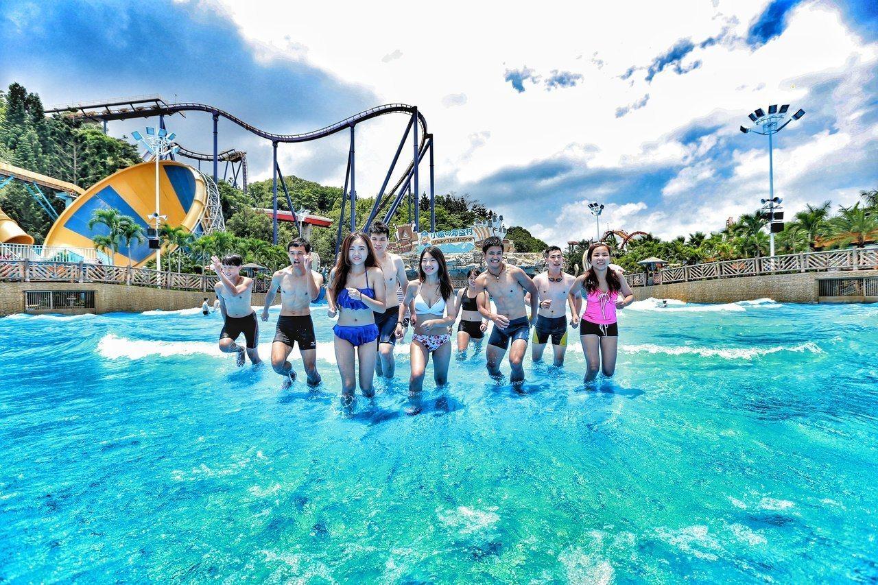 劍湖山世界表示,今年水樂園開放至今天10月13日。圖/劍湖山提供