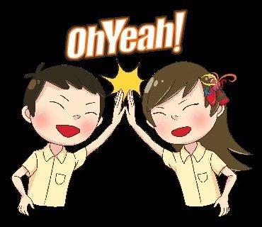 新竹高商創校至明年將迎接80週年校慶,順勢推出新竹高商專屬的Line貼圖「我是新...
