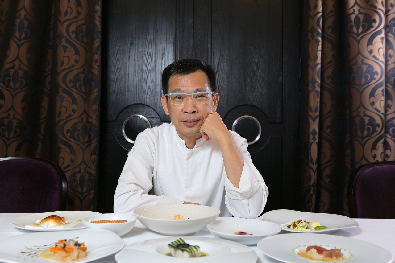 Thomas Chien法式餐廳廚藝總監簡天才。圖/Thomas Chien法式...