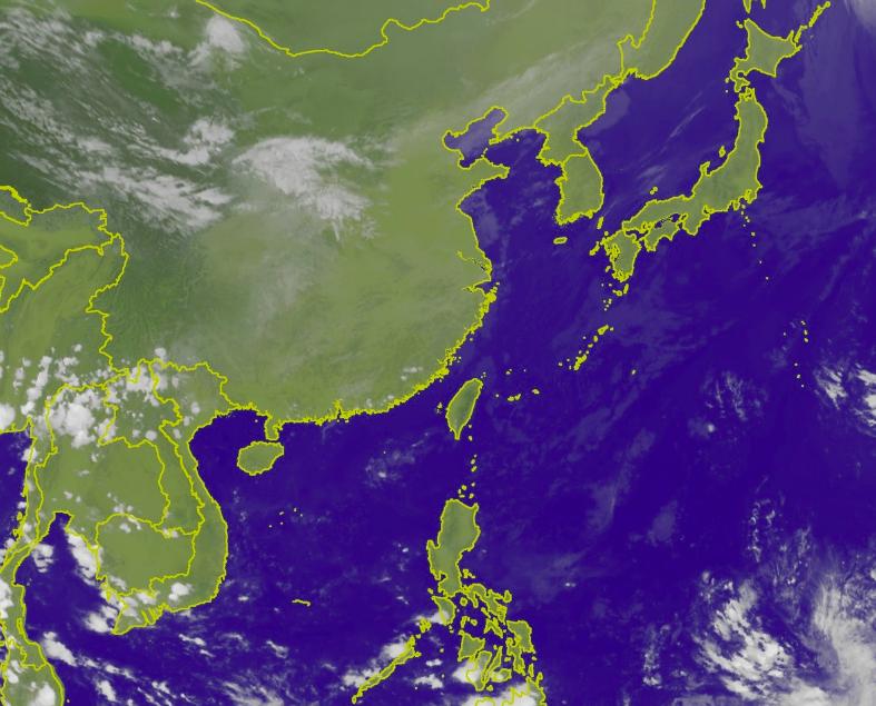 北台灣明起變天。圖/取自氣象局