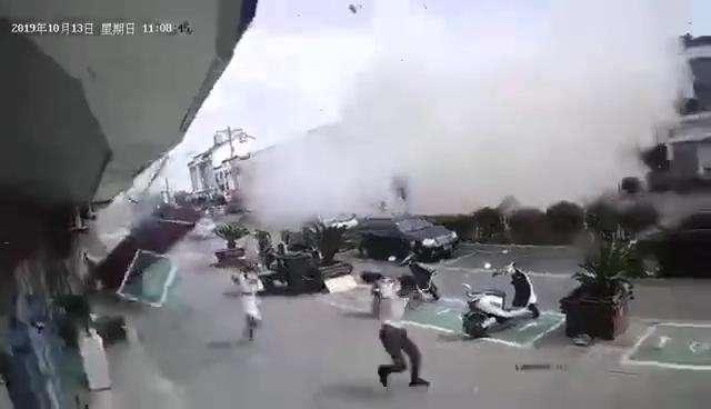 無錫一小吃店今早發生爆炸。圖/取自搜狐網
