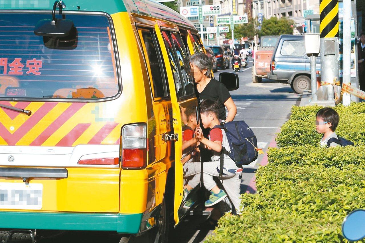教育部研擬明年起補助公私立幼兒園添購幼童車。圖/聯合報系資料照片