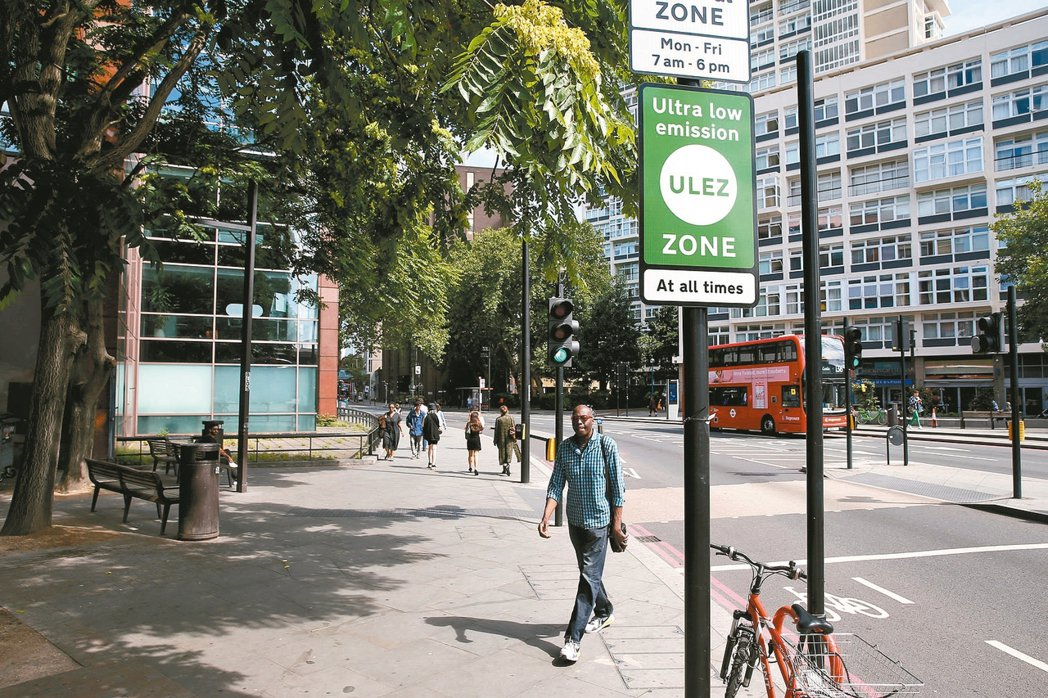 倫敦 超低排碳區英國倫敦超低排碳區(Ultra Low Emission Z...