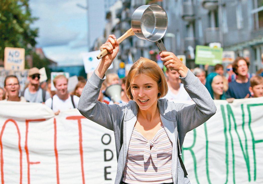 德國 遊行吐憤怒「Fridays for Future 」每周五在德國舉行遊...