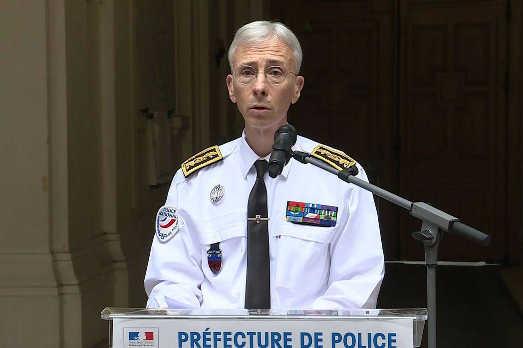 巴黎警署署長拉勒蒙。 (法新社)