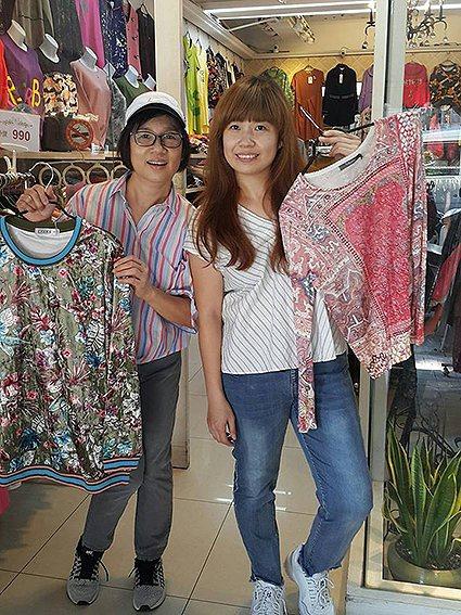 多元服飾風格民俗風也不放過。 台北市艋舺服飾商圈促進會/提供