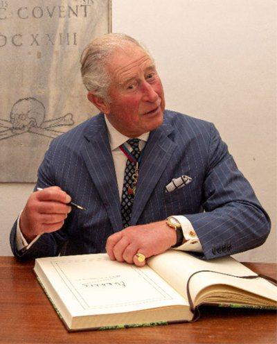 英國查爾斯王子。 路透