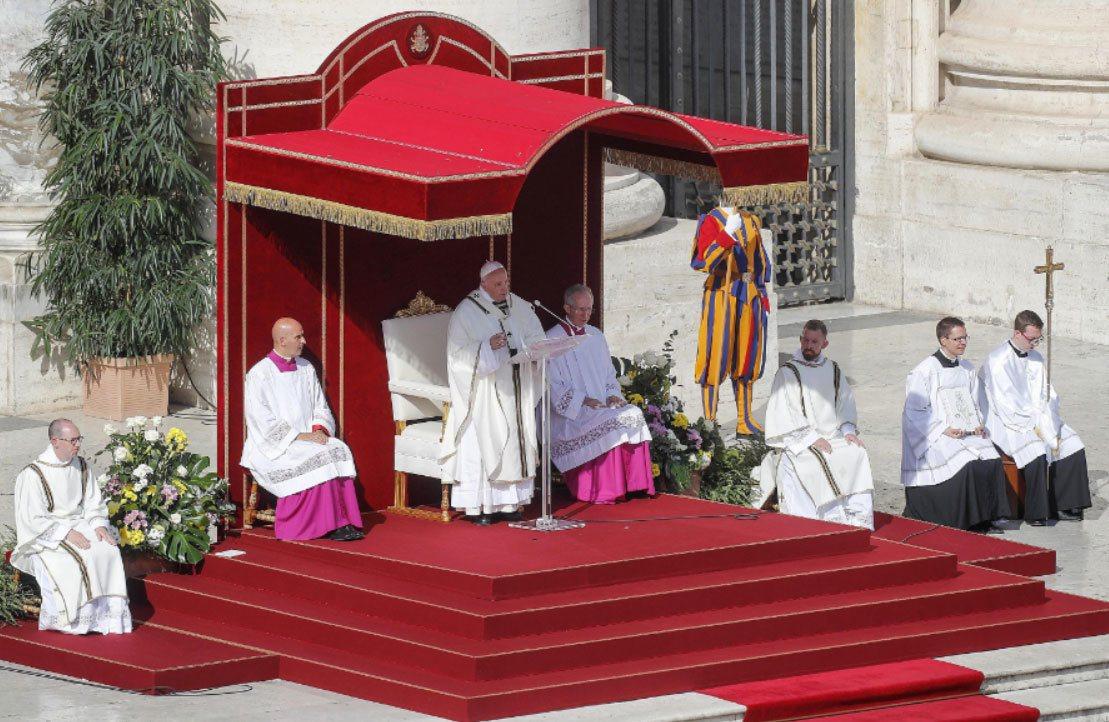 梵蒂岡舉行封聖典禮。 歐新社