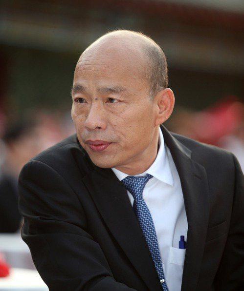 國民黨總統參選人韓國瑜。 聯合報系資料照/記者劉學聖攝影