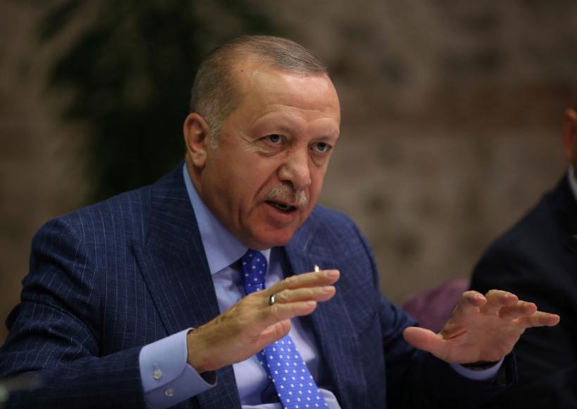 土耳其總統艾爾段今天表示,有意再攻下一城,將庫德軍逐出敘北城鎮曼比季(Manbi...
