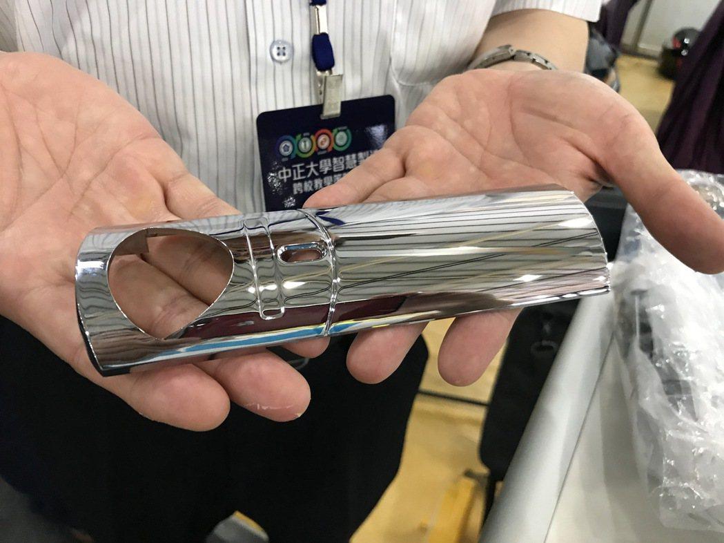 大葉大學工學院的電鍍槽智慧化監控系統開發,讓產品品質更穩定。 大葉大學/提供。