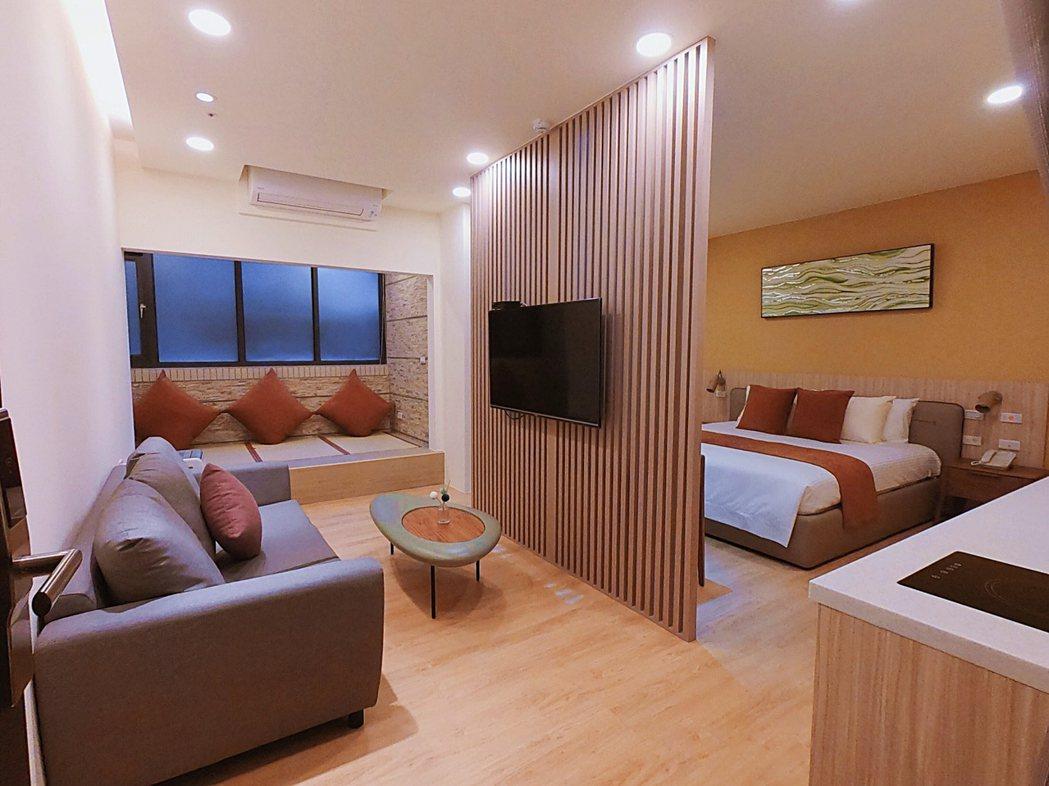 藍田貝兒護理之家房間照片。 業者/提供