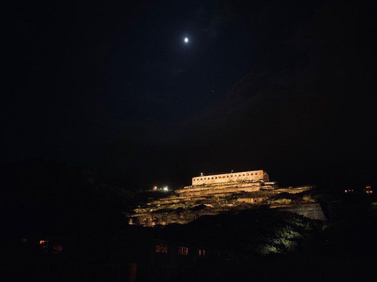 iPhone 11系列的夜景模式效果也相當令人驚艷。圖/宋修亞提供