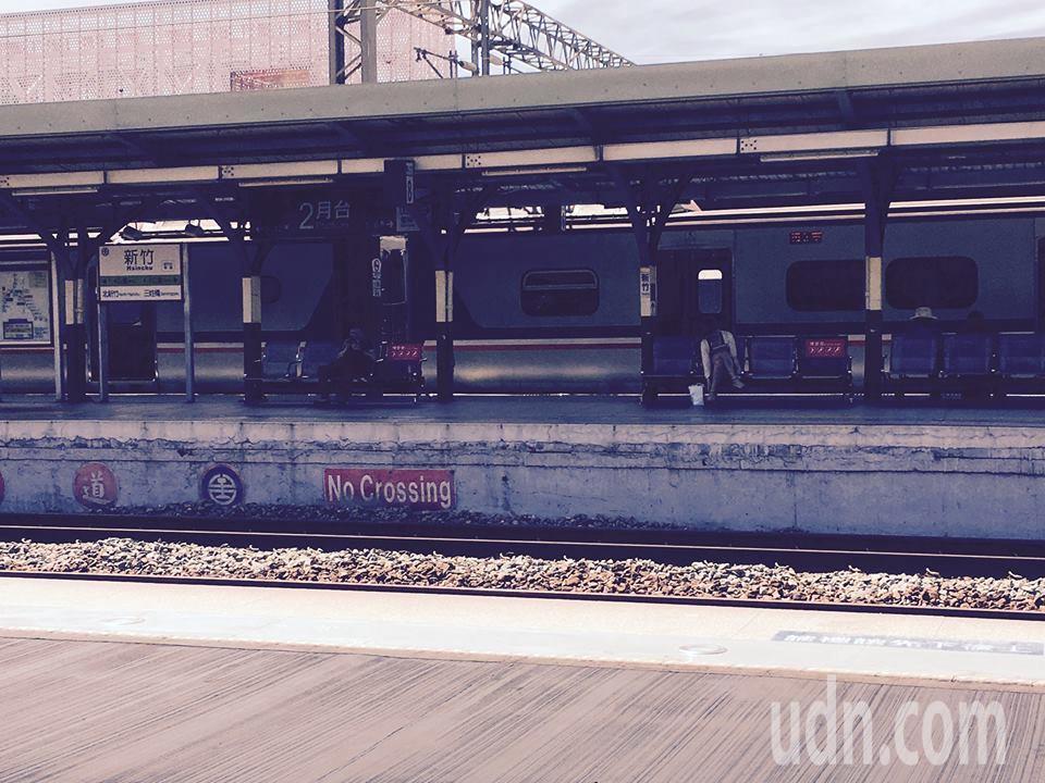 新竹火車站。記者張雅婷/攝影