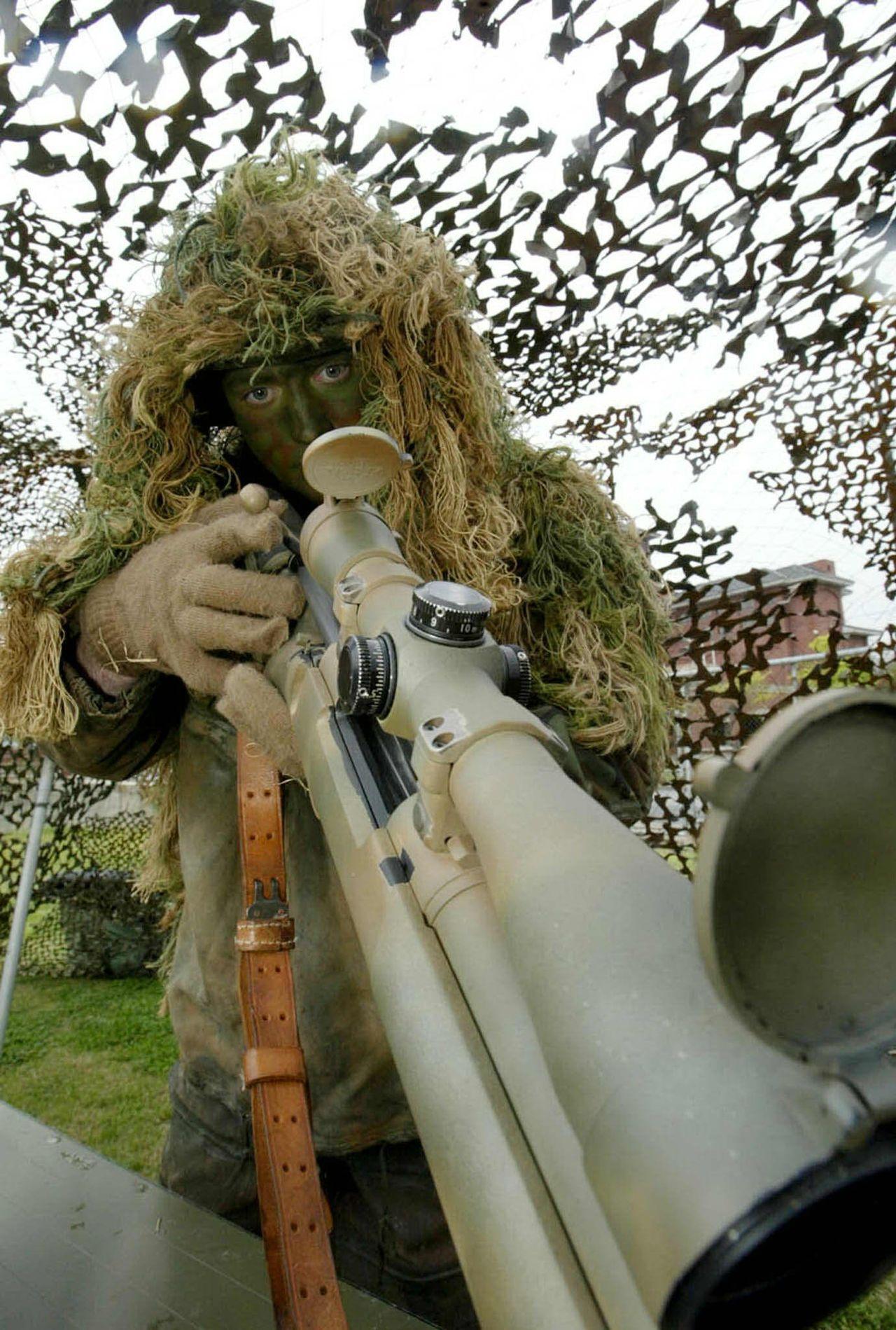 南韓將動用狙擊手格殺邊境野豬,圖為駐韓美軍。 路透