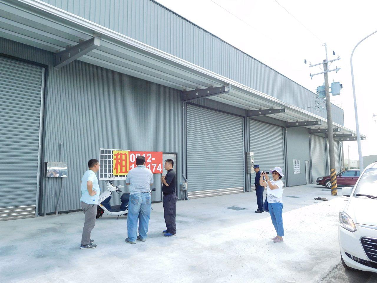 未登記工廠處理,台南市府配套措施出爐。圖/台南市政府經發局提供