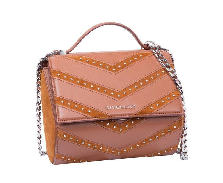 Givenchy鉚釘時尚肩背手拿兩用包,原價78,800元、3折優惠23,640...
