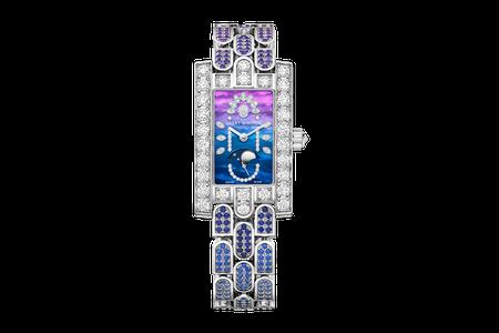 海瑞溫斯頓第五大道Avenue Classic系列20周年紀念腕表,18K白金表...