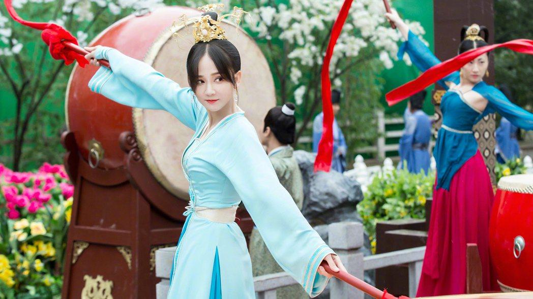 陳喬恩在「獨孤皇后」中少女時期演起。圖/中天提供