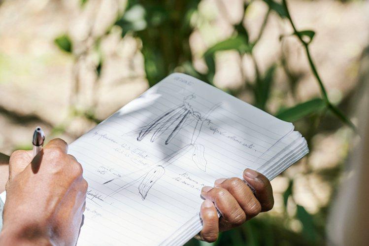 五月梵尼蘭每次開花,只有24小時就凋謝。圖/香奈兒提供